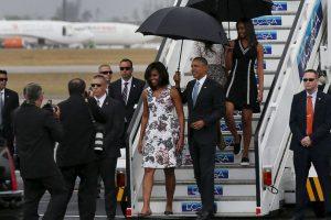 3. El gran ausente fue Raúl Castro, quien le dará la bienvenida oficial el lunes Foto:Getty Images