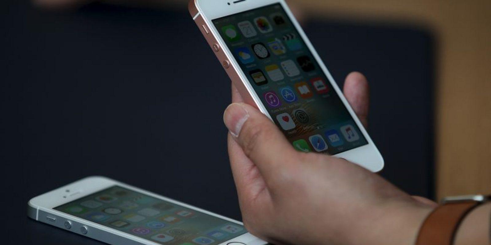 Imágenes de la presentación del iPhone SE Foto:Getty Images
