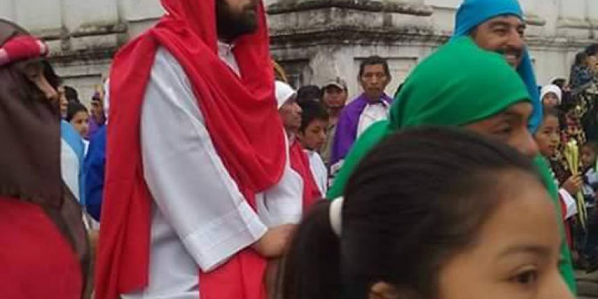 Domingo de Ramos en San Pedro Carchá, Alta Verapaz