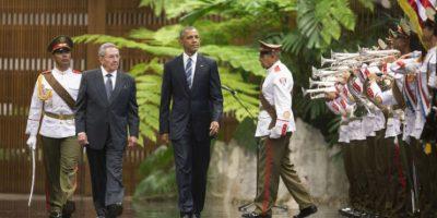 Barack Obama es el primer estadounidende del Partido Demócrata en visitar La Habana Foto:AP