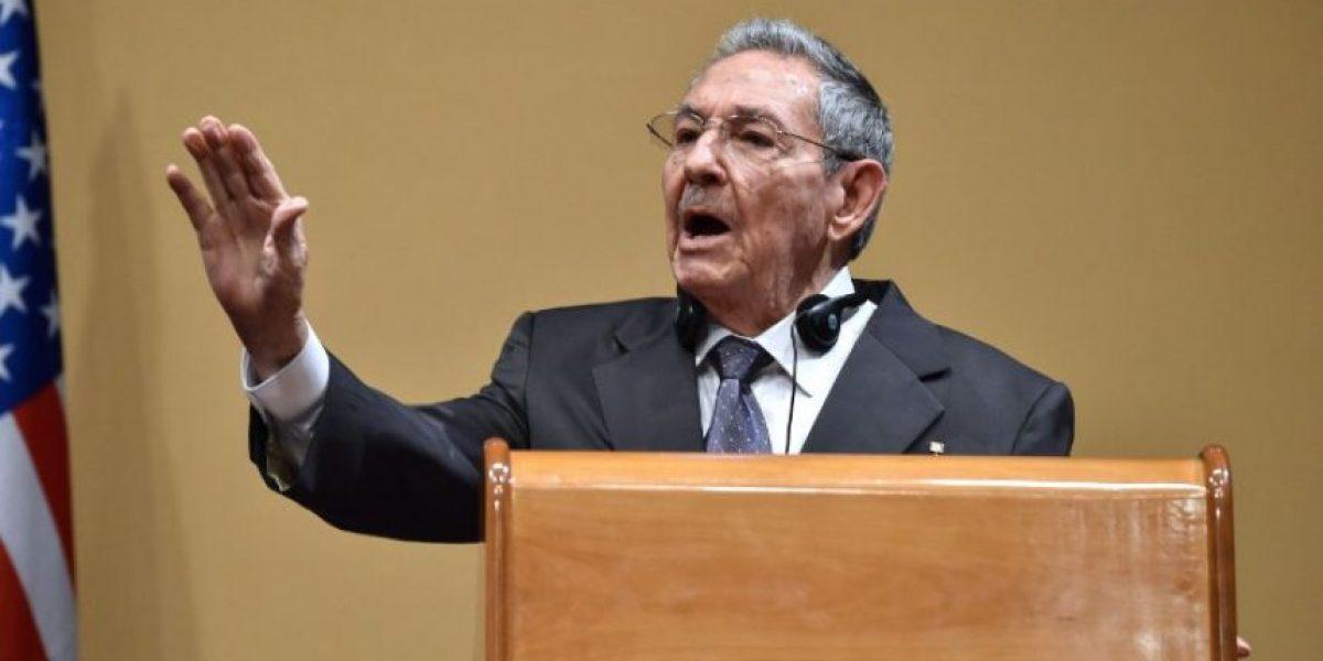 Raúl Castro niega que Cuba tenga presos políticos