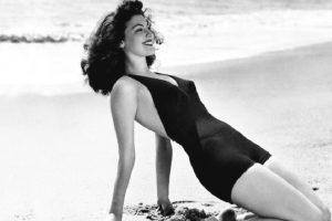 Fue el ícono de belleza absoluto en los años 40 y 50. Famosa por su fuerte carácter y su matrimonio con Frank Sinatra. Foto:vía Getty Images