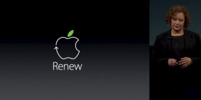 Uno de los aspectos sorprendentes fue la preocupación de Apple por el medio ambiente. Foto:Apple