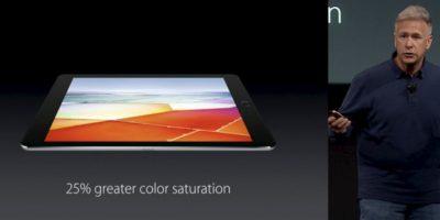 El iPad Pro de 9.7 pulgadas fue presentado como el sustituto de la PC. Foto:Apple