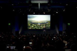 Por último, Apple anunció la inauguración de sus nuevas oficinas para 2017. Foto:Apple