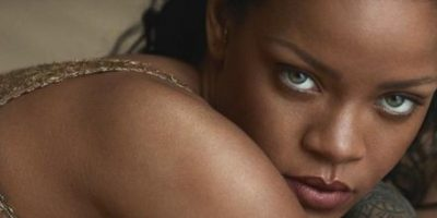 Rihanna fue sorprendida por uno de sus fans en pleno concierto