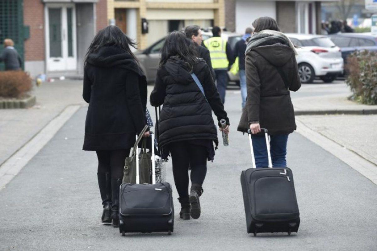 La frontera con Francia fue cerrada. Foto:AFP