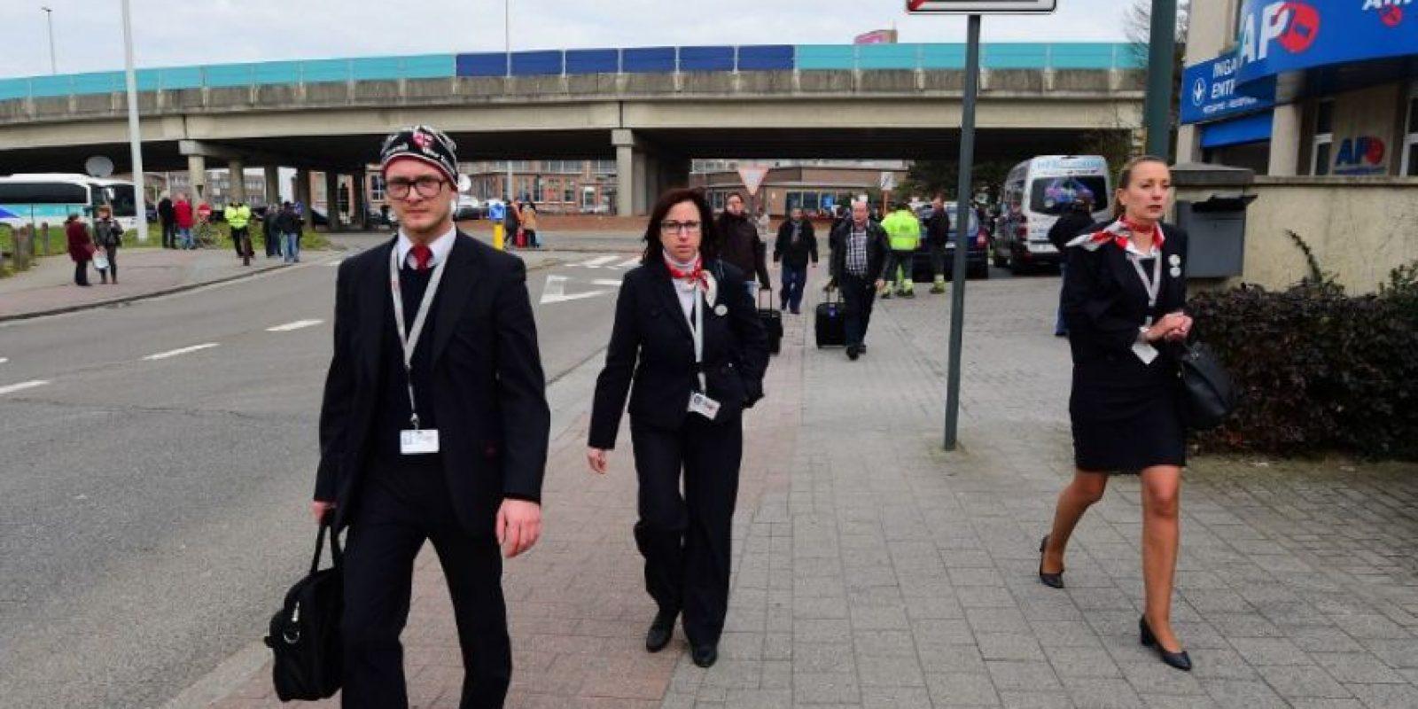 El primero de los ataques se ha producido en el principal aeropuerto de Bélgica, Bruselas-Zaventem. Foto:AFP