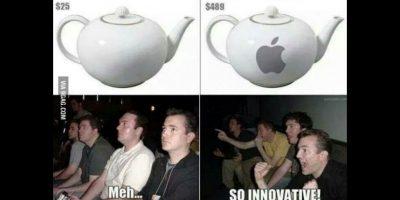 """""""Qué innovación"""" Foto:Twitter"""
