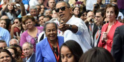 Barack Obama y Raúl Castro asisten al juego histórico entre los Mantarrayas de Tampa Bay y la Selección Nacional Cubana
