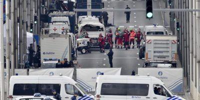 Bruselas convulsionada tras ataques terroristas Foto:AP