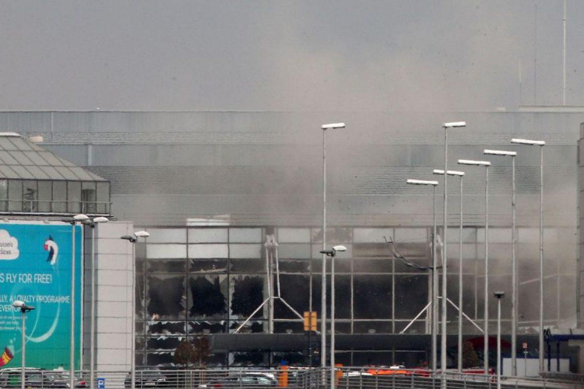 Ataque al aeropuerto en Bruselas Foto:AP