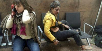 El segundo ataque tuvo lugar en el metro. Foto:AP