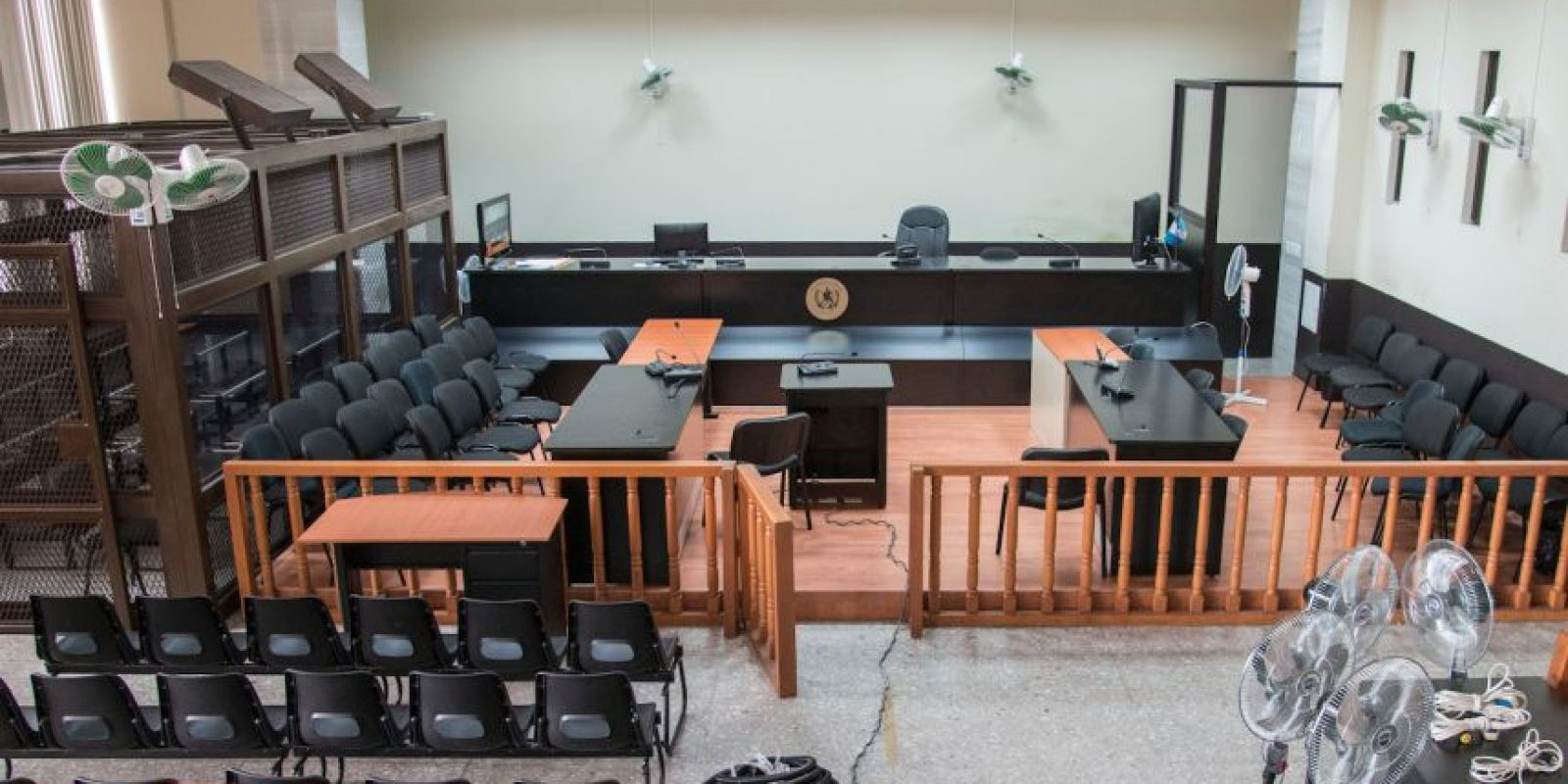 La sala que se usará. Foto:Luis Nájera