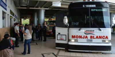 Autoridades no tolerarán el aumento en el pasaje y visitan la Centra Norte