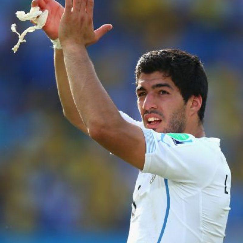 """Luis Suárez regresa a la """"Celeste"""", después de cumplir un castigo de dos años por morder a Giorgio Chiellini en el Mundial de 2014 Foto:Getty Images"""