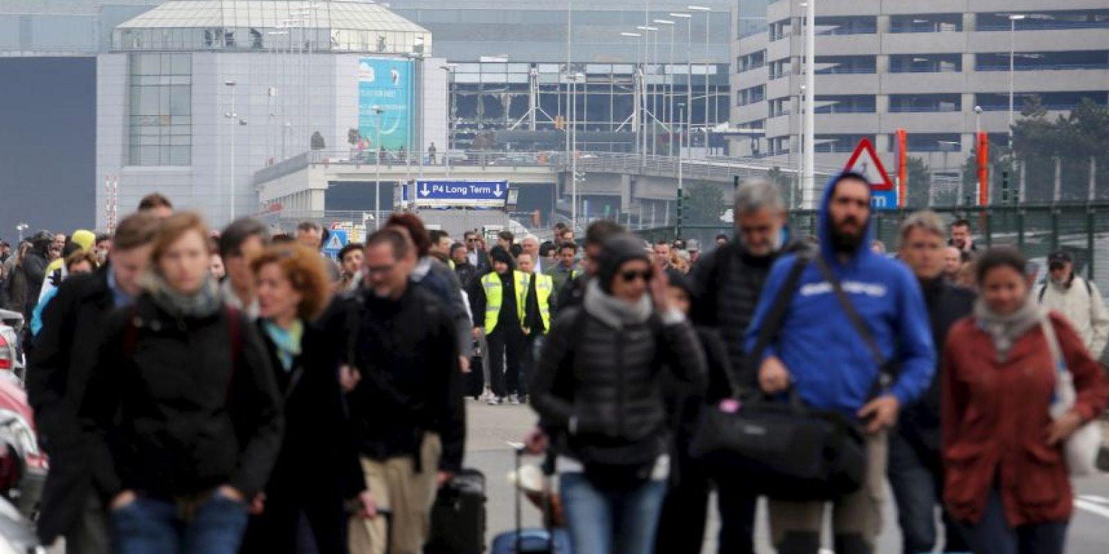Bruselas convulsionada tras ataques terroristas Foto:Getty Images