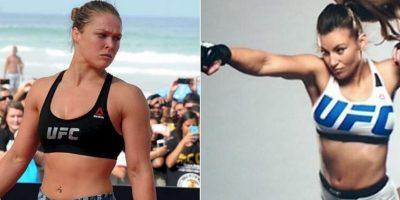 Miesha Tate reveló que no es amiga de Ronda Rousey Foto:UFC