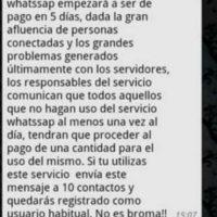 Las cadenas en WhatsApp que todos odian. Foto:Tumblr