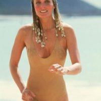 Bo Derek se hizo conocida en los 60 y 70. Para los 80 ya era un sex symbol. Foto:vía Getty Images