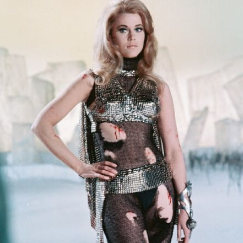 """Jane Fonda se hizo conocida por la película """"Barbarella"""". Foto:vía Getty Images"""