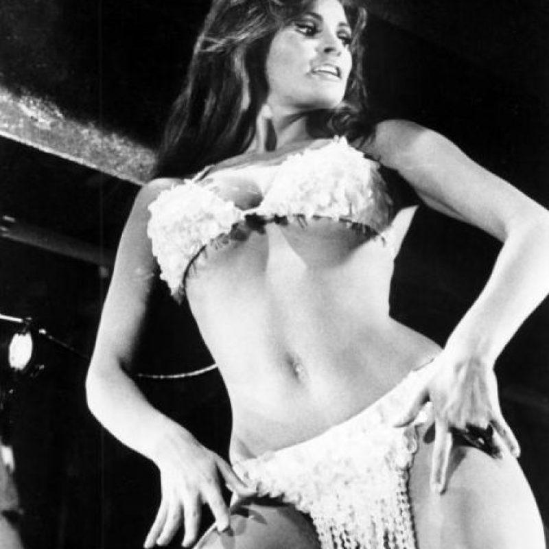 Raquel Welch fue otro gran sex symbol de los años 60. Foto:vía Getty Images