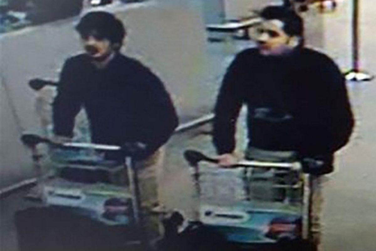 Se trata de los hermanos Ibrahim y Khalid el Bakraoui, de nacionalidad belga Foto:AFP