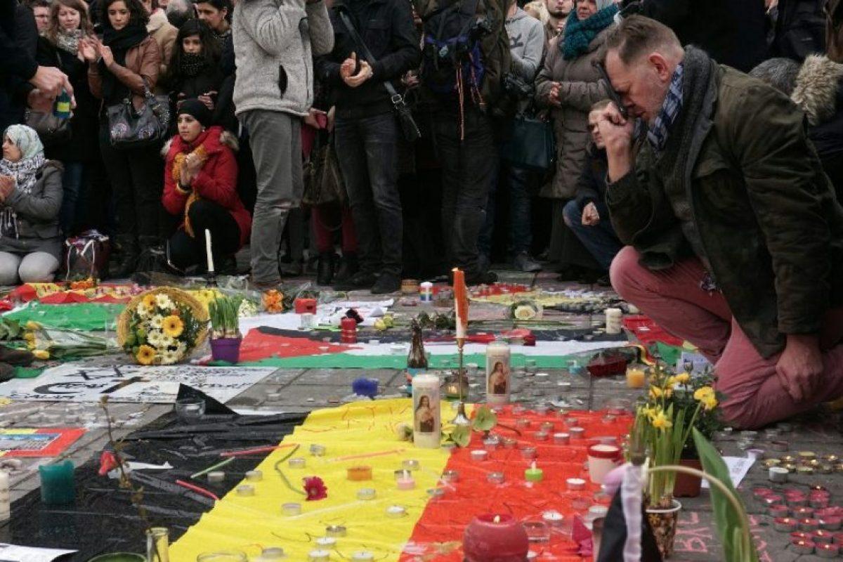 Esto, cuatro meses de los atentados terroristas en Francia Foto:AFP