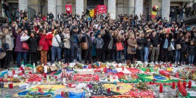 Fotos: Así despertó Bélgica en su primer día de duelo