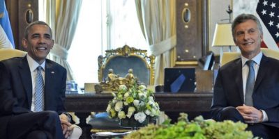 Barack Obama en Argentina Foto:AFP
