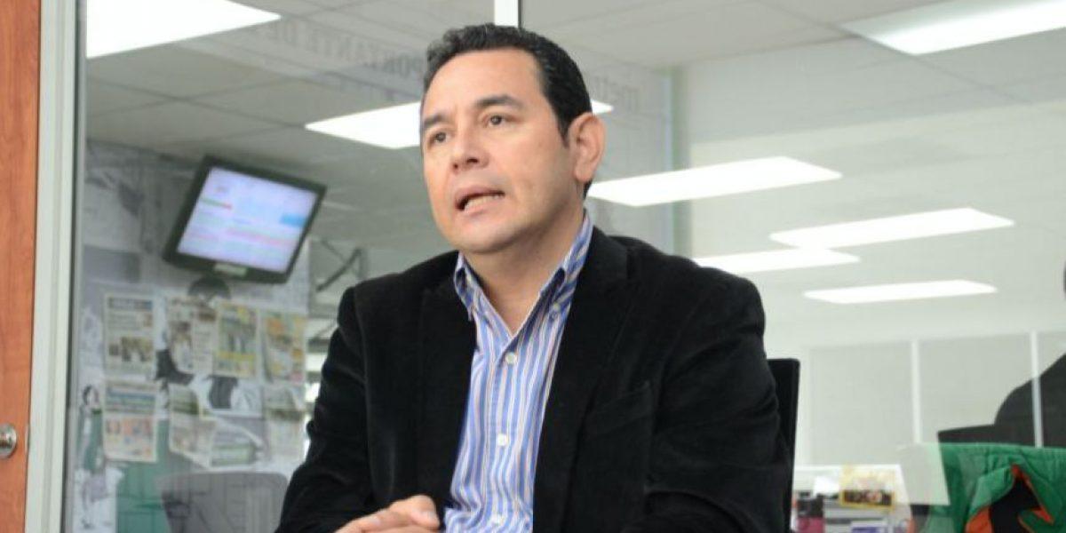 Jimmy Morales apostará por los bonos de carbono para financiar proyectos en Petén