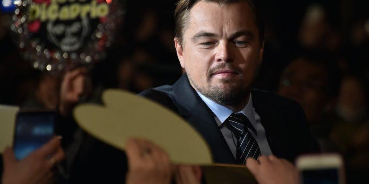 DiCaprio está preocupado por el cambio climático