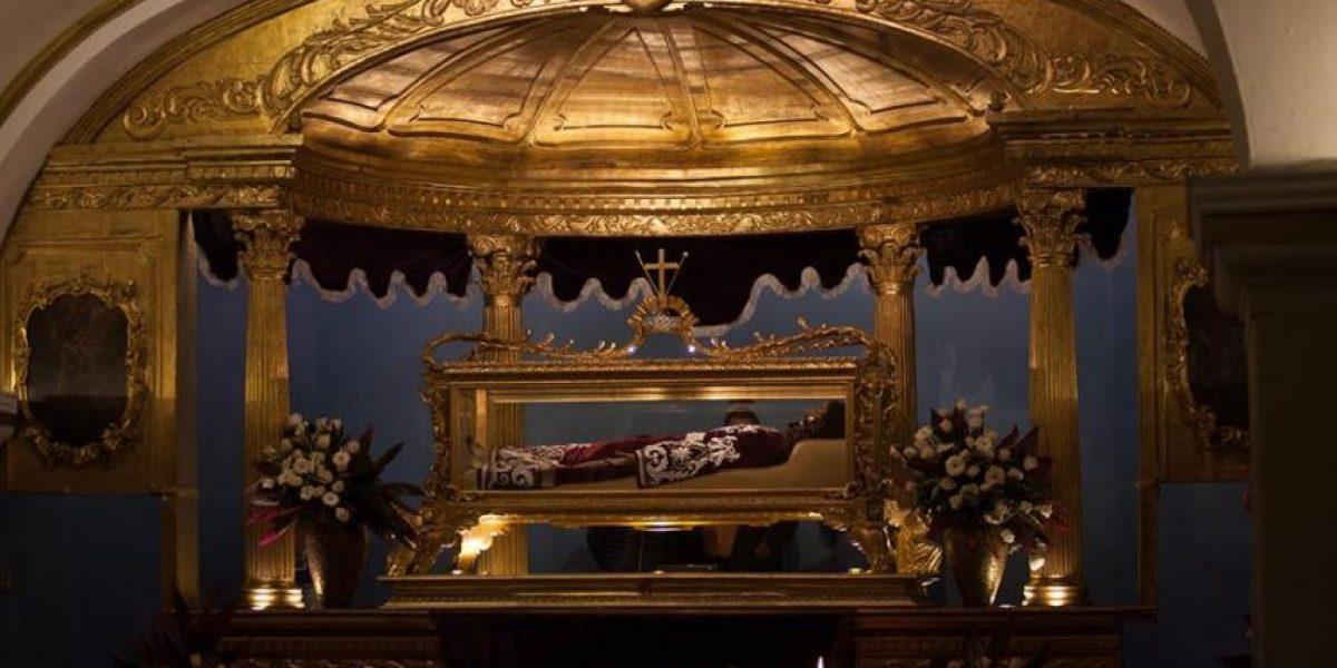 Procesión Señor Sepultado de Santo Domingo, Cristo del Amor, Viernes Santo 25 de marzo de 2016