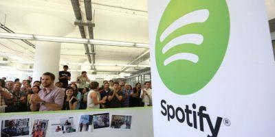 Spotify es la plataforma más importante de música actualmente. Foto:Getty Images