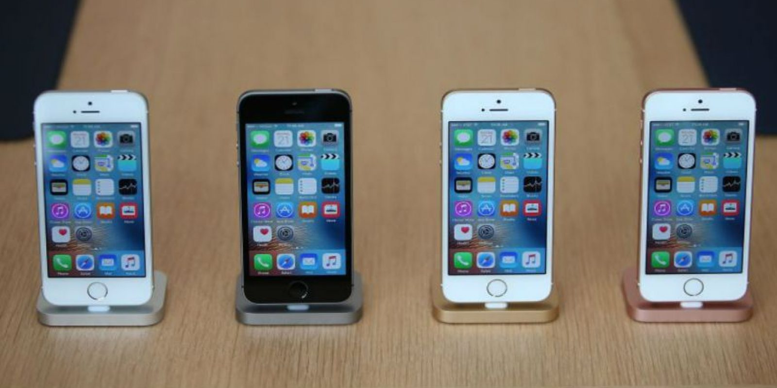 Diferentes modelos de iPhone. Foto:Apple
