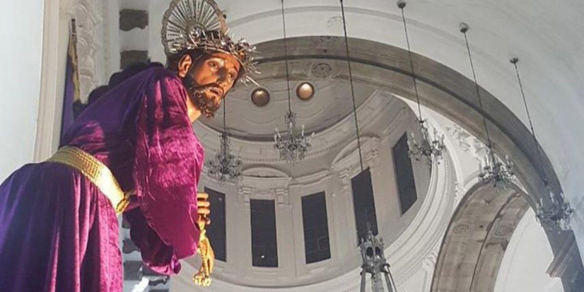Procesión de Jesús del Rescate de Santa Teresa, Miércoles Santo 23 de marzo de 2016