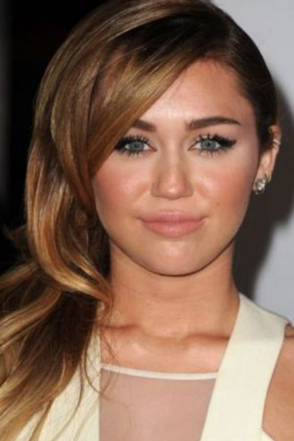 Así se veía en sus núbiles tiempos de Hannah Montana. Foto:vía Getty Images