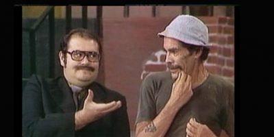 Y solía fumar incluso durante las filmaciones de los programas de Chespirito. Foto:vía Facebook