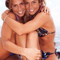 Nadadoras sincronizadas de Brasil Foto:Vía instagram.com/biaebrancaferes
