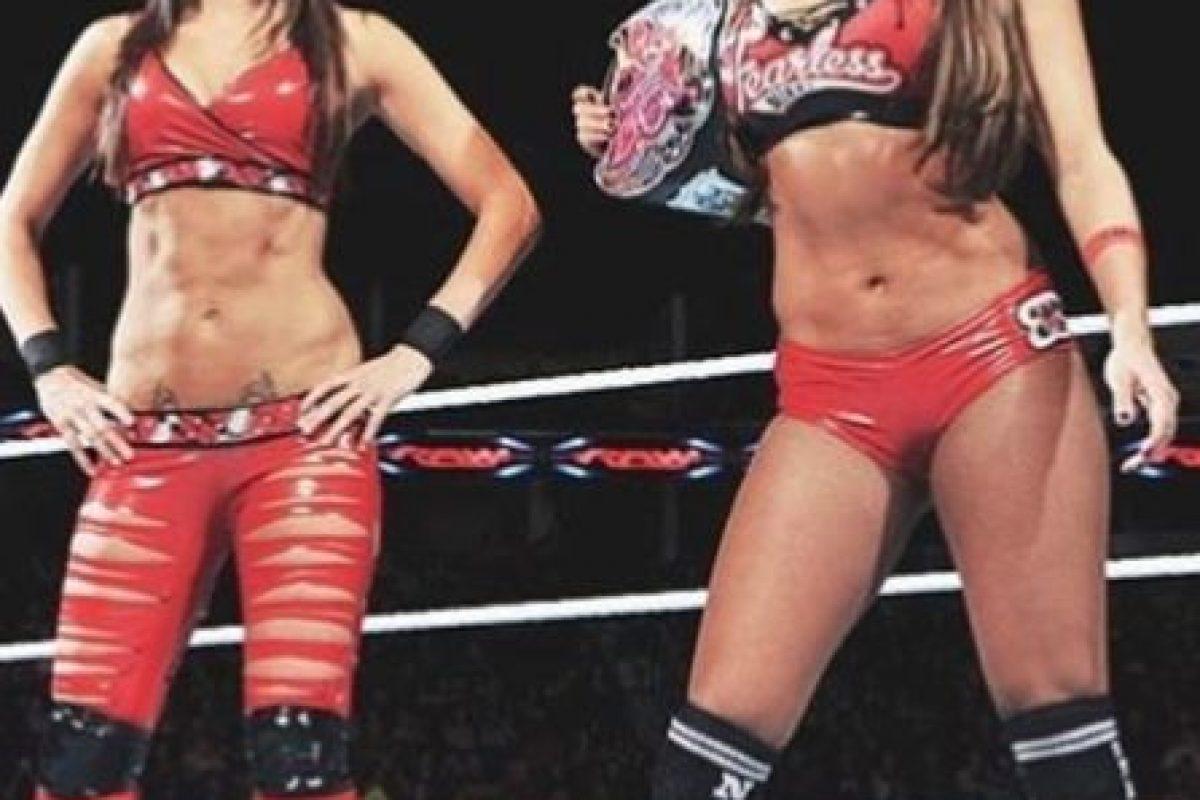 Nikki y Brie Bella Foto:WWE