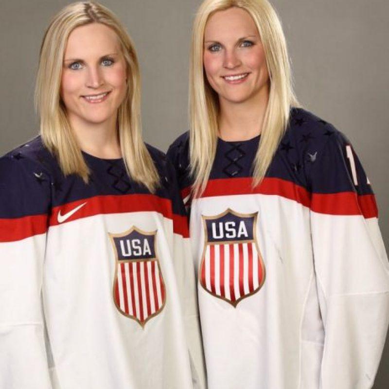 Jugadoras estadounidenses de hockey Foto:Vía twitter.com/JocelyneUSA17/
