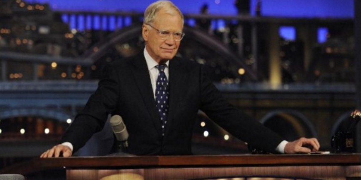 David Letterman luce irreconocible casi un año de su retiro de la TV
