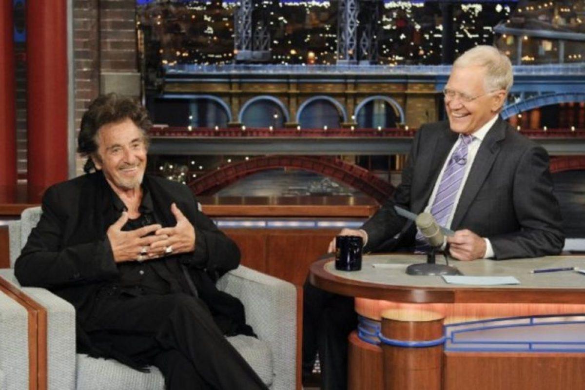 Con Al Pacino Foto:Vía imdb.com