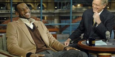 Con LeBron James Foto:Vía imdb.com