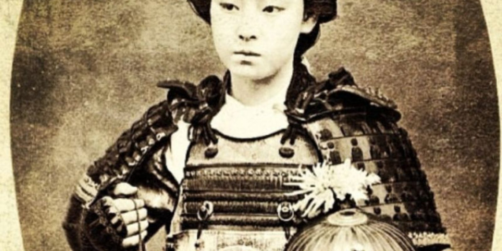 Esta foto pertenece a un actor del teatro kabuki del siglo pasado. Foto:The Museum of Hoax