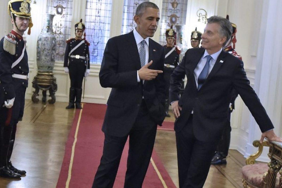 Esta es la primera vez que Obama visita Argentina en casi 20 años Foto:AFP