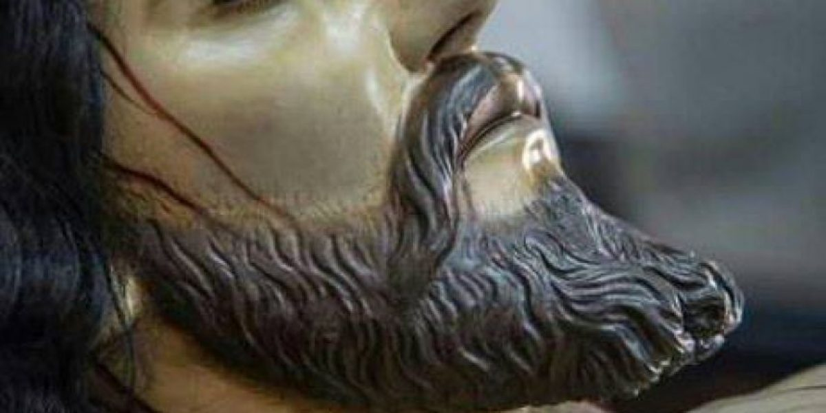 Procesión del Cristo Yacente de El Calvario, Viernes Santo 25 de marzo de 2016