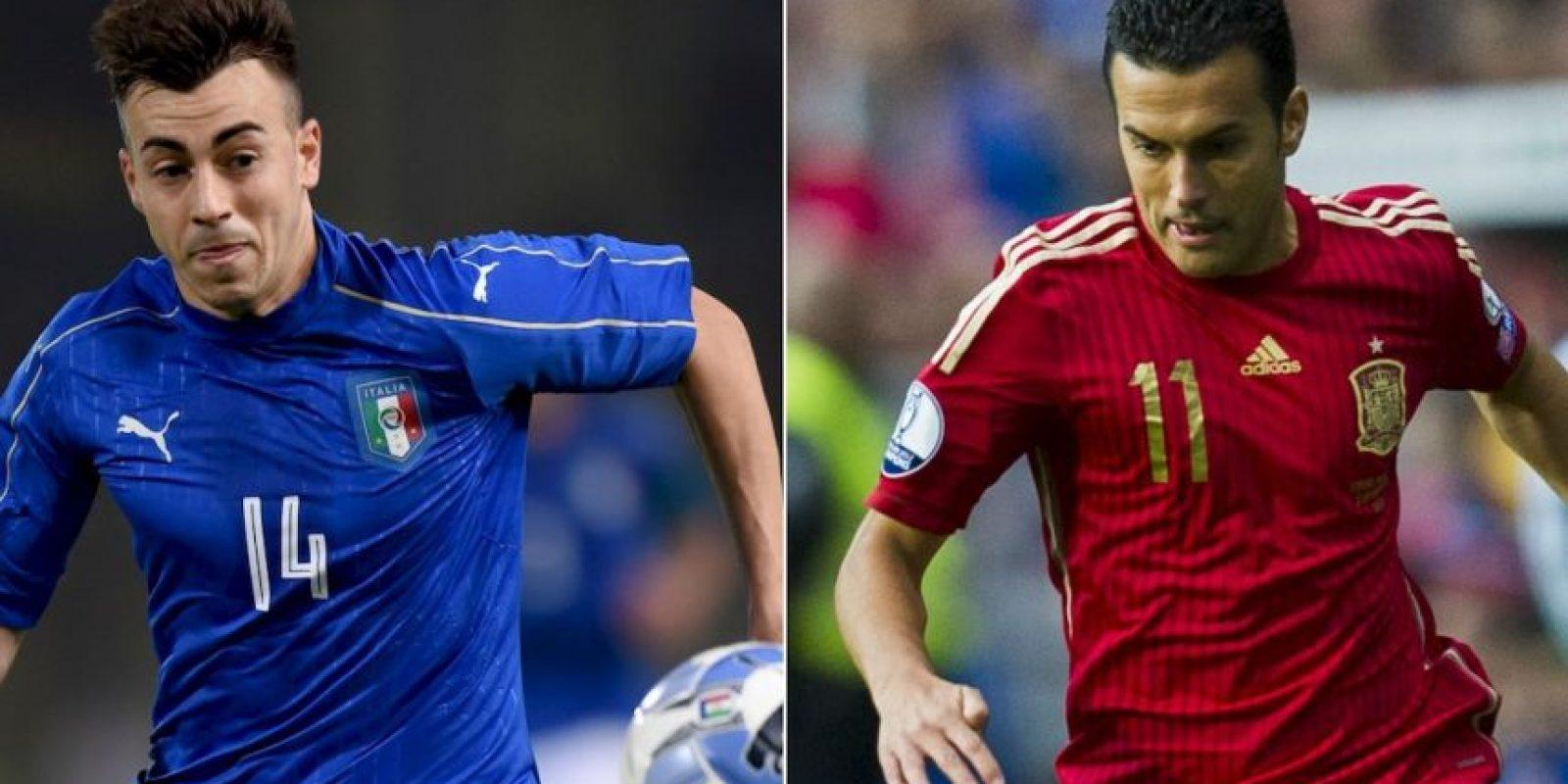 Italia vs. España Foto:Getty Images