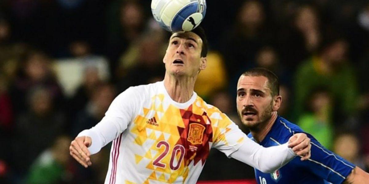 Resultado del partido Italia vs España, amistoso internacional, marzo 2016