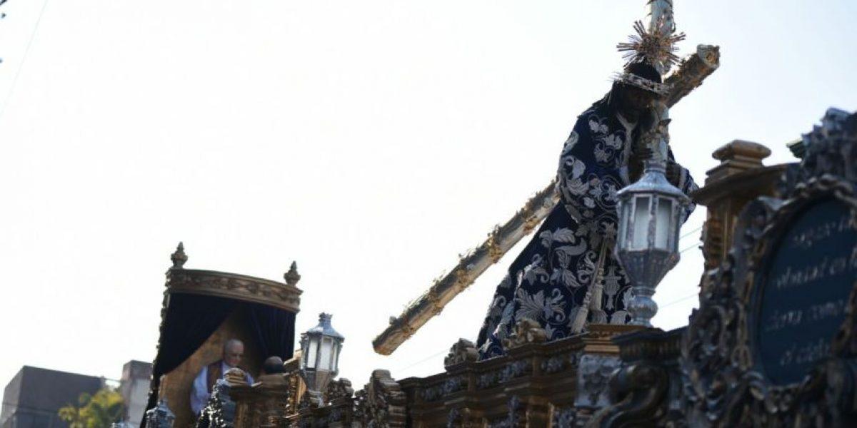 Las mejores imágenes de la procesión de Jesús de Candelaria, Cristo Rey